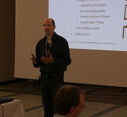 Vortrag Agiles Schätzen und Planen (Photo: Oliver Wihler)